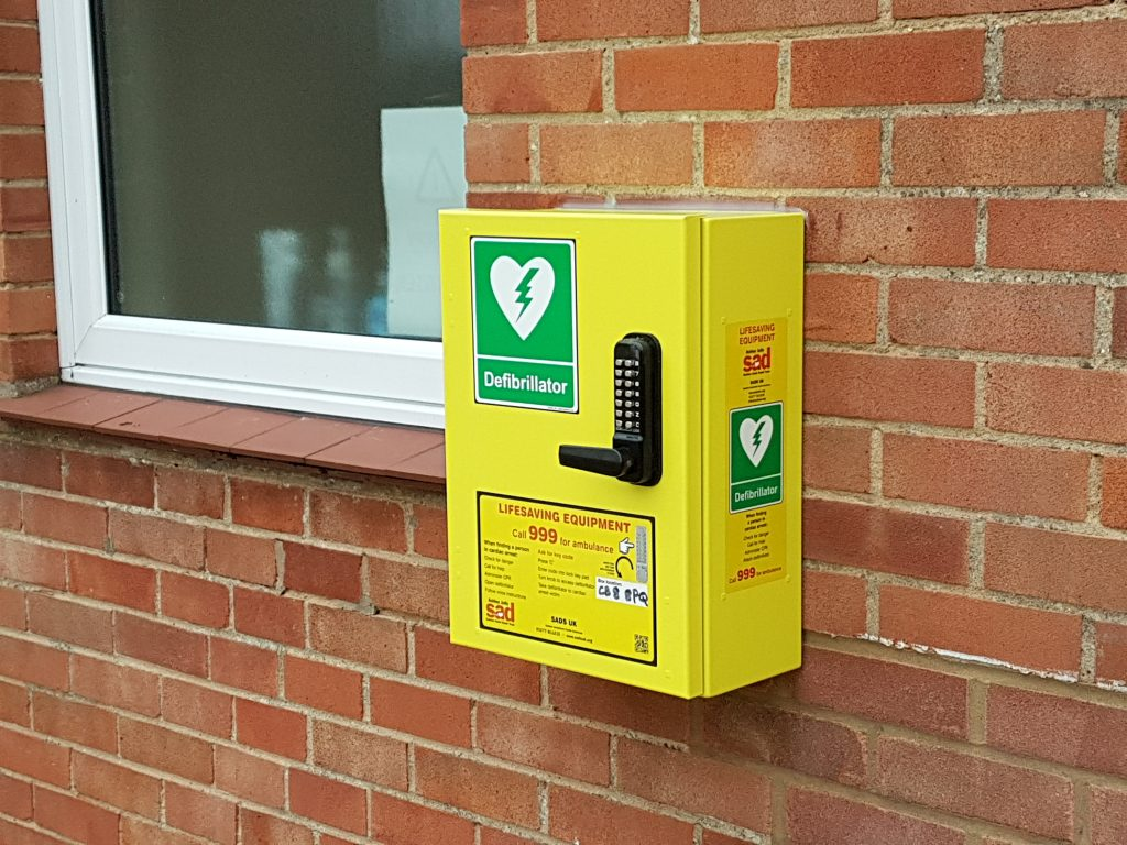 Wickhambrook community public access defibrillator