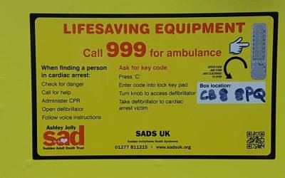 Talk on the Village Defibrillator
