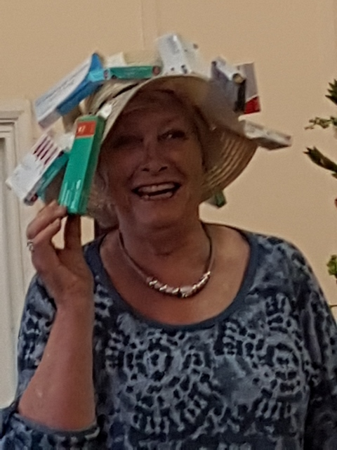 Angela's Pill Box hat