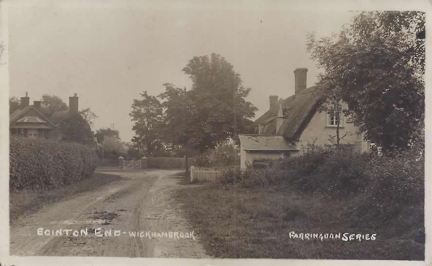 Bointon End, Wickhambrook, Suffolk. About 1910