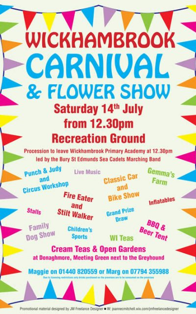 News from Wickhambrook Carnival Committee