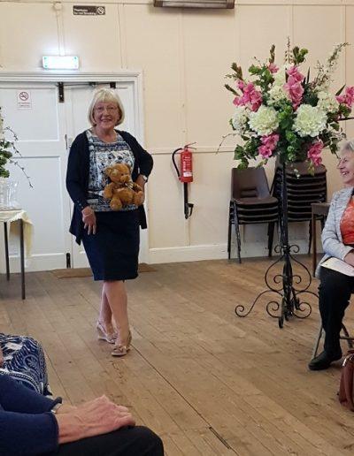 Deidre shows her Bear Midrift