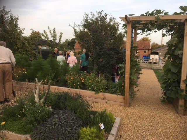 Horticultural Society Depden Visit
