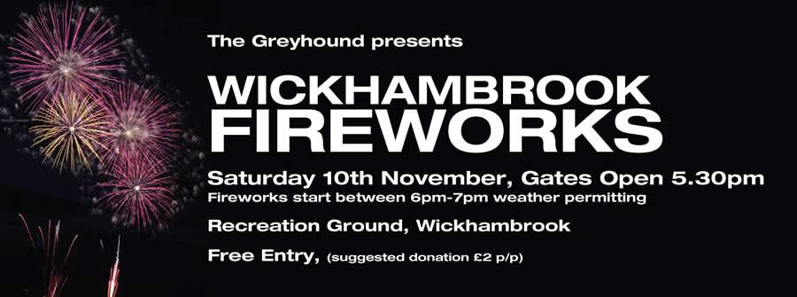Wickhambrook Fireworks