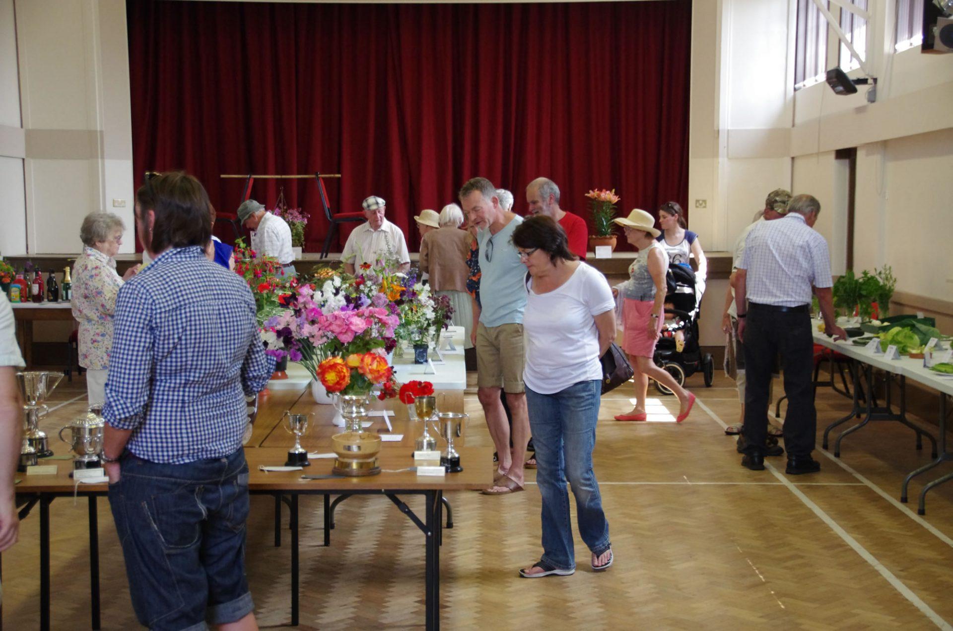 Wickhambrook Flower Show