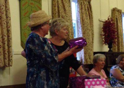 July 2015 Members meeting - in the pink!