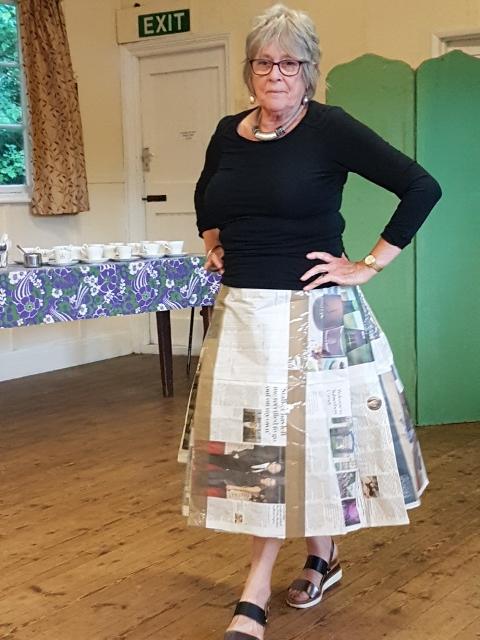 Jackie's Print skirt
