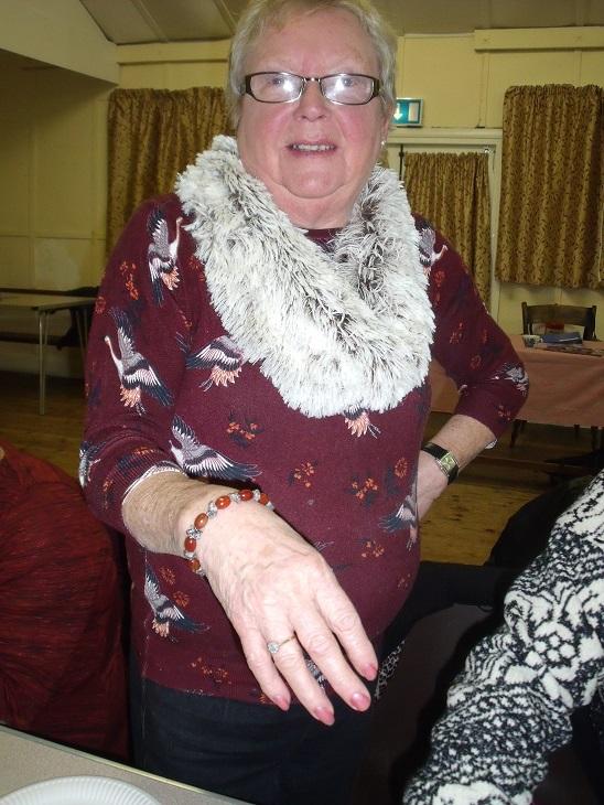 Jewellery - Thelma's bracelet at W.I. Jewellery Making