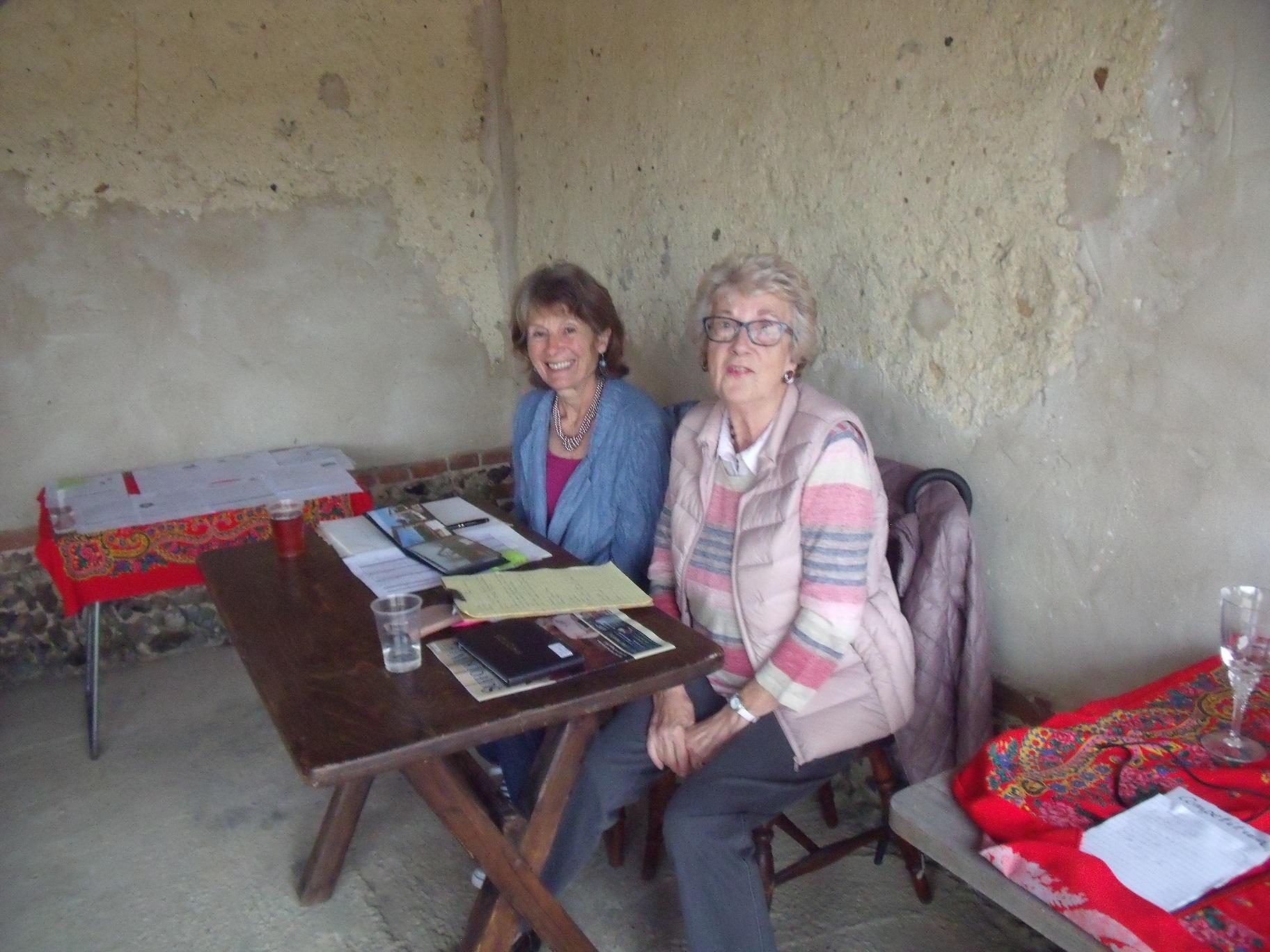 W.I. Joyce and Audrey