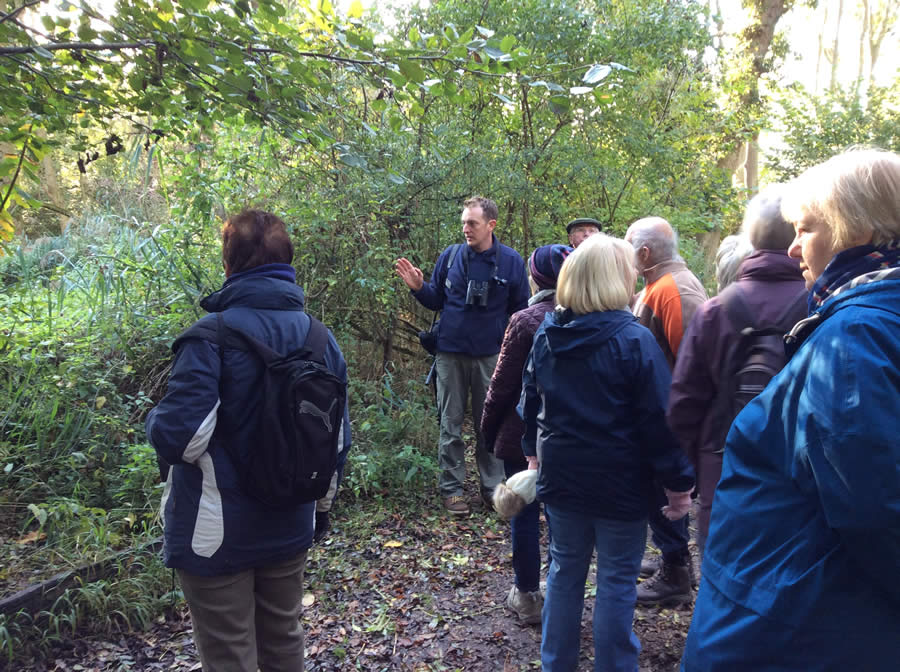 Lackford Lakes visit by WI