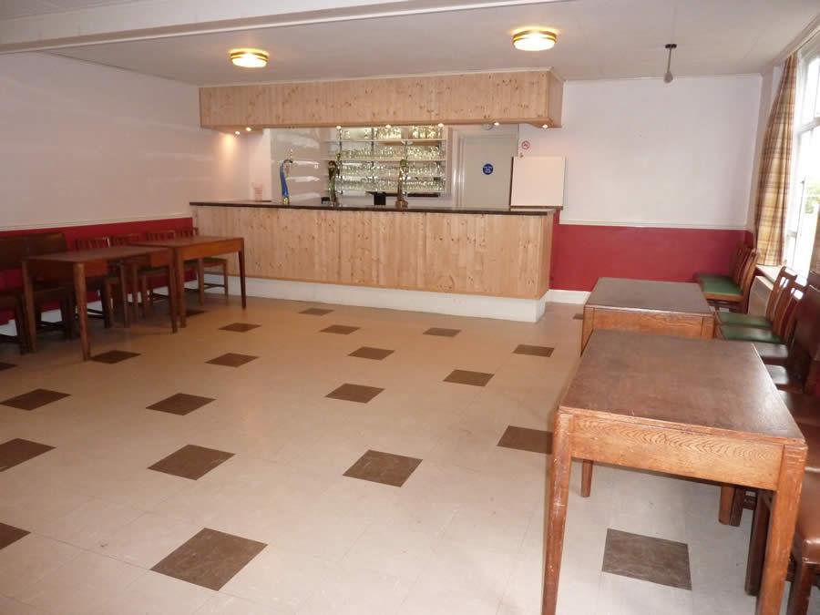Wickhambrook MSC Club Room bar