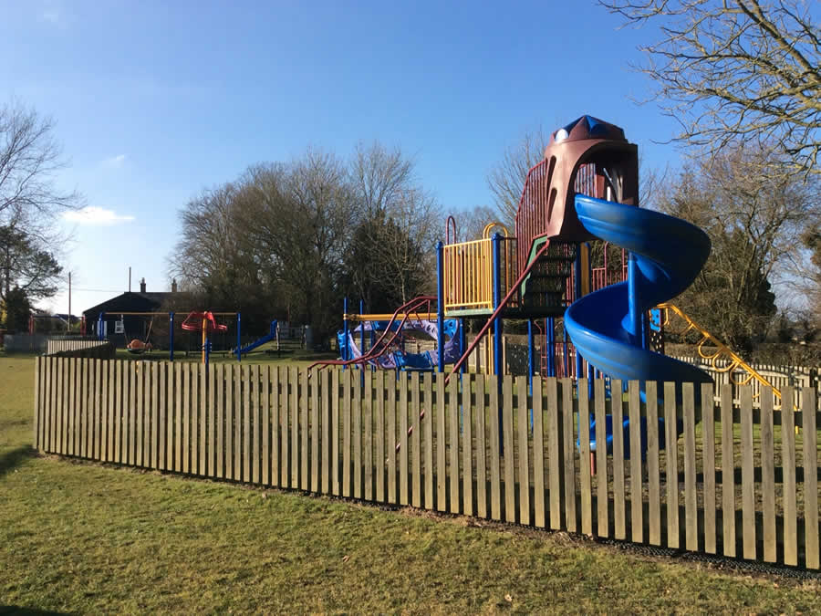 Wickhambrook playground