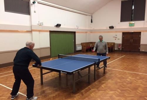 Table Tennis at Wickhambrook