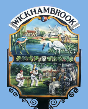 Wickhambrook Village Sign