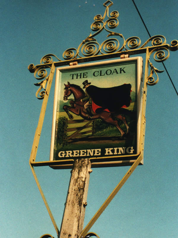 Wickhambrook Village - The Cloak
