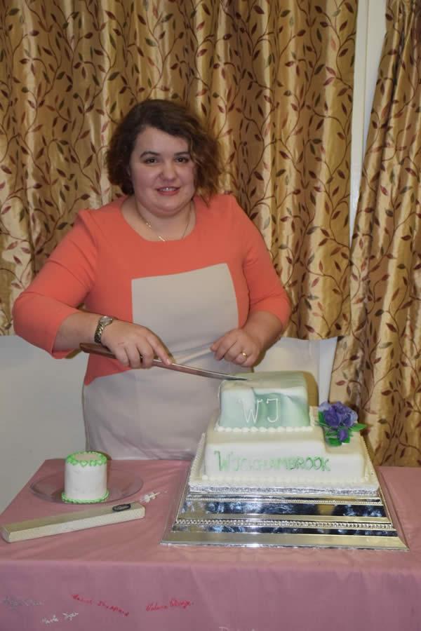 W.I. 90th Anniversary cake
