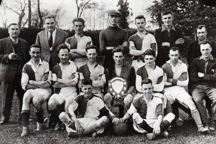 Wickhambrook Football - old