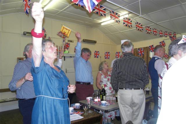 W.I. Jubilee Themed Evening