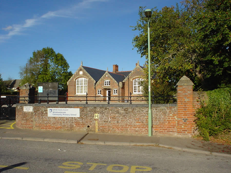 Wickhambrook Primary Academy front