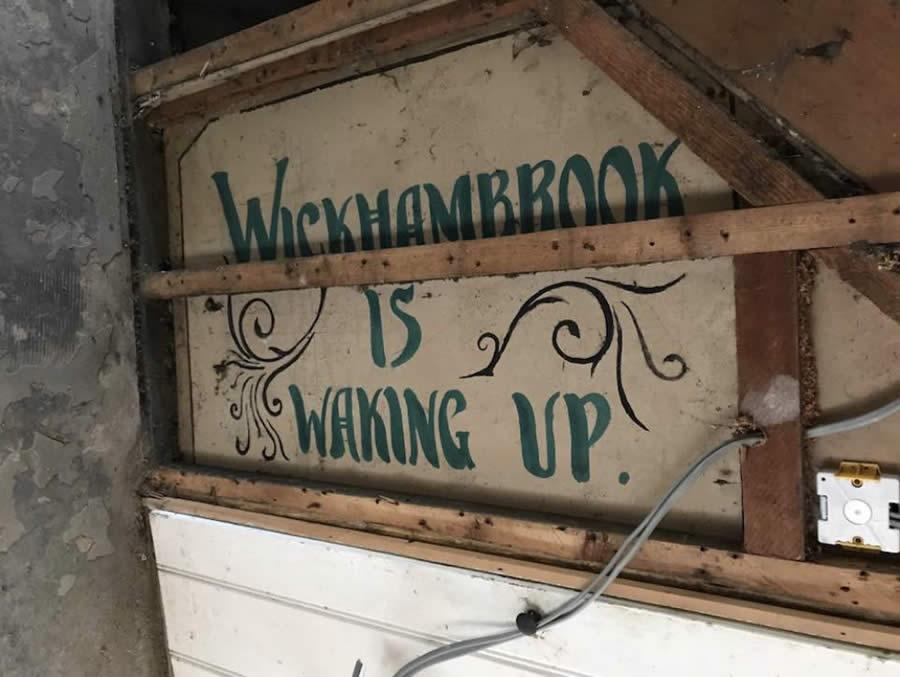 Wickhambrook is waking up!