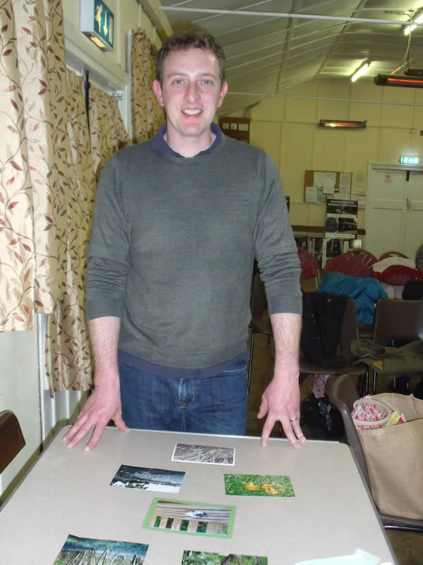 Will Cranstoun of Suffolk Wildlife Trust at W.I. March Meeting 2018