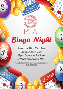 Bingo Night @ Wickhambrook MSC