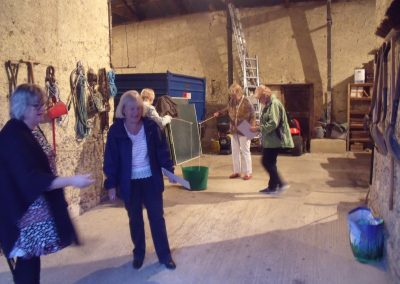 W.I. Games in the Barn