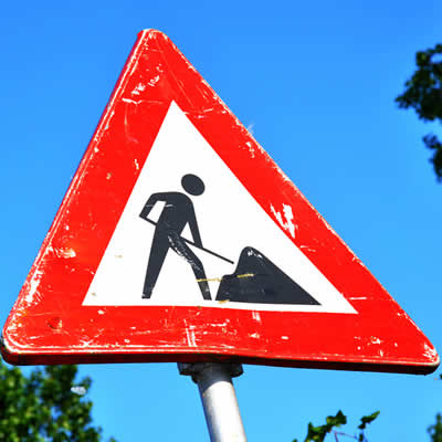 Roadworks - A143 near junction of Church Road, Wickhambrook @ A143 Bury Road, Wickham Street, Wickhambrook | Wickhambrook | England | United Kingdom